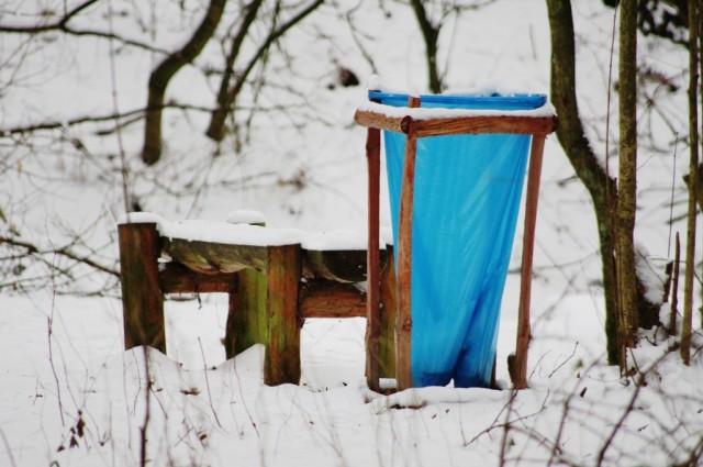 Leśna ławeczka - Gajosa i Żółkiewskiej jedynie brakuje
