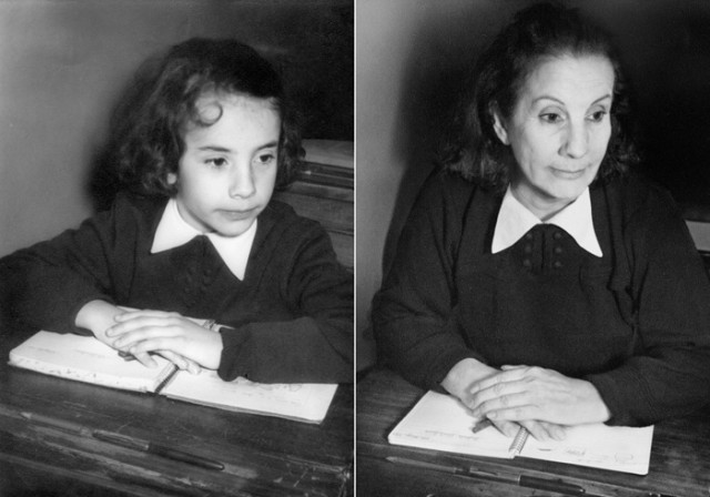LUCIA IN 1956 & 2010, Buenos Aires by Irina Werning