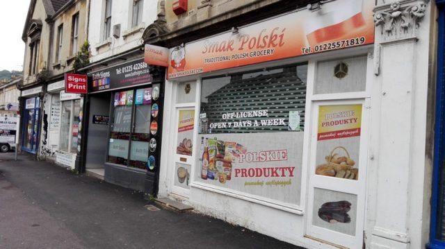 Polskie sklep w Bath